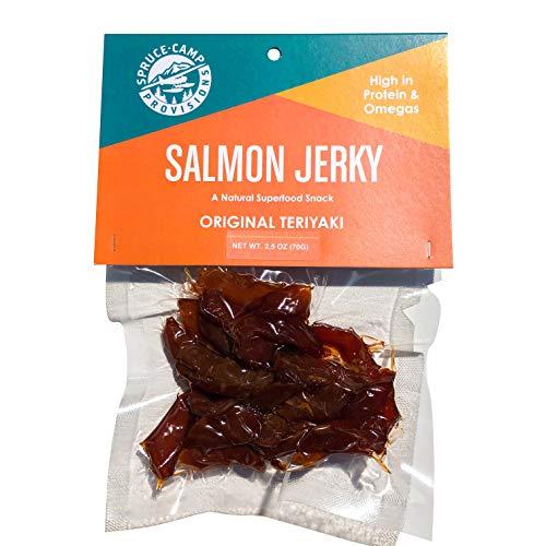 All-Natural Salmon Jerky Teriyaki