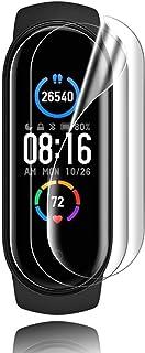 Maxku Xiaomi Mi Band 5/4 用フィルム高透過率 超薄 硬度4H 耐衝撃 手触り良い HD画面 PET素材 Mi Band 5/4用 液晶保護フィルム【3枚入り】