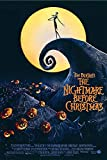 Tim Burton's The Nightmare Before Christmas - Movie Poster (Regular Style - White) (Size: 24 x 36 inches)