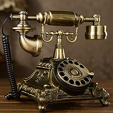 Antique Rotary Phone French Style Vintage Old Fashioned Princess Telephone USA