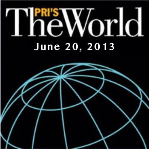 The World, June 20, 2013 audiobook cover art