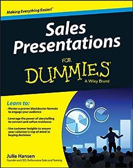 Sales Presentations For Dummies by [Julie M. Hansen]