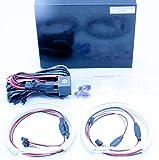 KIT AROS OJOS DE ANGEL LED SMD 4x 131MM CANBUS E46 E39 E38 E36 BLANCO 6000K Angel Eyes Halo Ring E-MARK