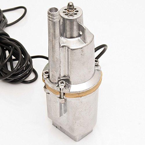 werkzeugundzubehoer_com Tiefbrunnenpumpe 300 W (Ø 98 mm) 1400 Liter pro Stunde Gartenpumpe Membranpumpe Tauchpumpe