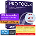 Avid Pro Tools 2019 Academic Annual Subscription (Download Card Only – Activate with iLok Cloud)