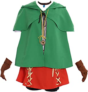 CosplayDiy Women's Suit for The Legend of Zelda Hyrule Warriors All-Stars Link Linkle Cosplay Costume