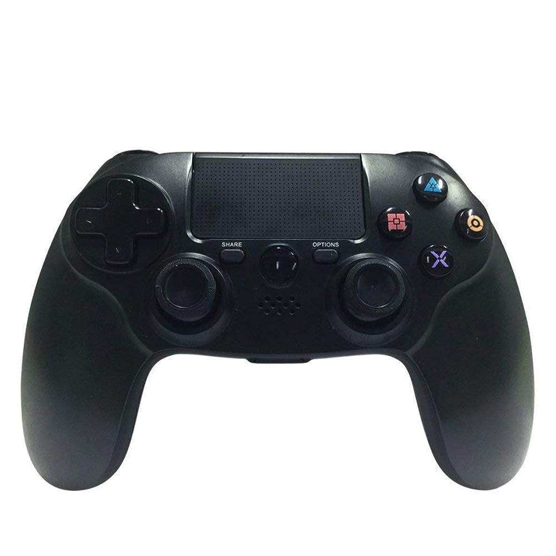 サークルドルモディッシュプレイステーション4用ワイヤレス Bluetooth コントローラ、PS4 用ワイヤレスビデオゲームコントローラジョイスティック