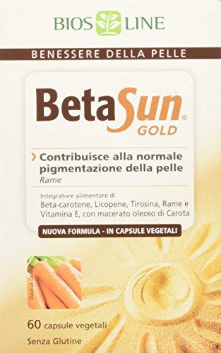 Bios Line Beta Sun Gold Integratore Alimentare per la Pelle - 60 Capsule