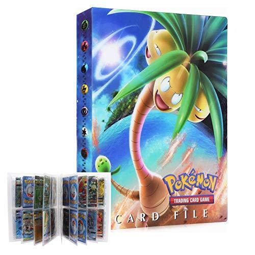 LSST Album for Pokemon Trading Cards, Pokemon Binder, Pokemon Card Holder, Pokemon Card Holder Binder, Pokemon Card Book, 30 Pages Holds up to 240 Cards (Exeggutor)