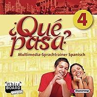 Qué pasa 4. CD-ROM Multimedia-Sprachtrainer: Lehrwerk für den Spanischunterricht, 2. Fremdsprache. Einzelplatzlizenz