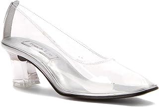 ab3ac3c732d Amazon.com  Clear - Pumps   Shoes  Clothing