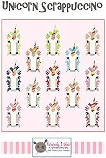 Unicorn Scrappuccino Pattern by Kelli Fannon Quilt Designs