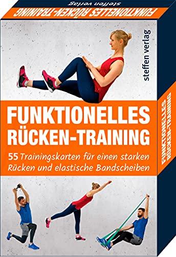 Trainingskarten: Funktionelles Rückentraining: 55 Trainingskarten für einen starken Rücken und elastische Bandscheiben (Trainingsreihe von Ronald Thomschke)