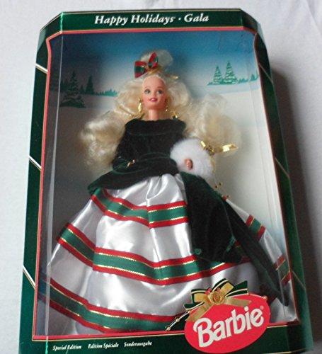 Happy Holidays - Gala Barbie