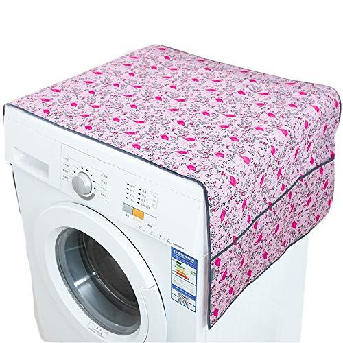 Afdekking voor wasmachine, koelkast, stofbescherming, multifunctioneel, stofdicht, waterdicht, om op te hangen, geschikt voor de meeste drogers.