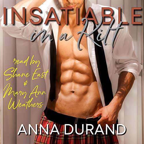Insatiable in a Kilt audiobook cover art
