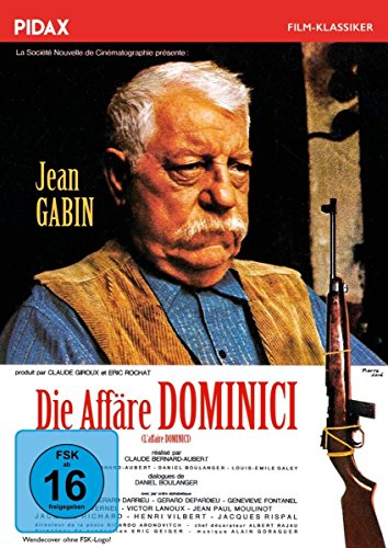 Die Affäre Dominici (L'affaire Dominici) / Packender Kriminalfilm mit Jean Gabin und Gérard Depardieu nach einer wahren Geschic