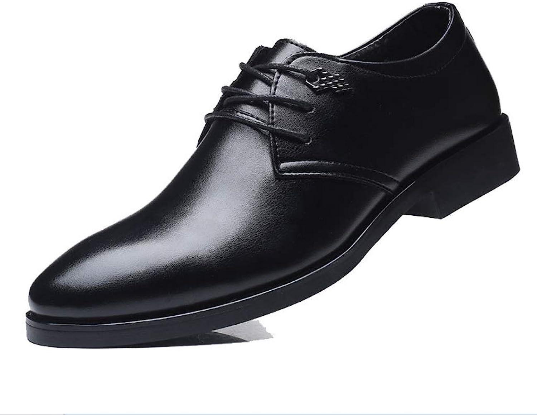 Män's läder skor män s s s Daily Formal Business Casual skor Mode Mans skor British Boutique skor  Din tillfredsställelse är vårt mål