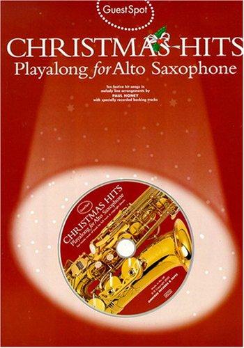 Guest Spot Christmas Hits pour saxophone + Cd