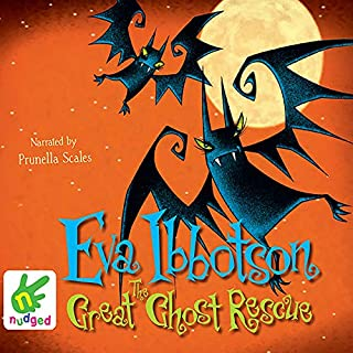 The Great Ghost Rescue audiobook cover art