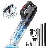 Hand Vacuum, Hand Held Vacuuming Cordless,Handheld Vacuum, Car Vacuum, Mini Vacuum, 9Kpa Cordless Vacuum Cleaner, Portable Wet Dry Vacuum Cleaner for Home/Pet/Car