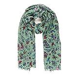 MELIFLUOS DESIGNED IN SPAIN Pañuelos Fular Foulard Mujer Bufandas Estampado Diseño Español 100% Viscosa (NF49-10)