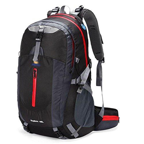 SZH&BEIB Sac à dos en plein air 40L randonnée multifonction paquet alpinisme unisexe Voyage , E