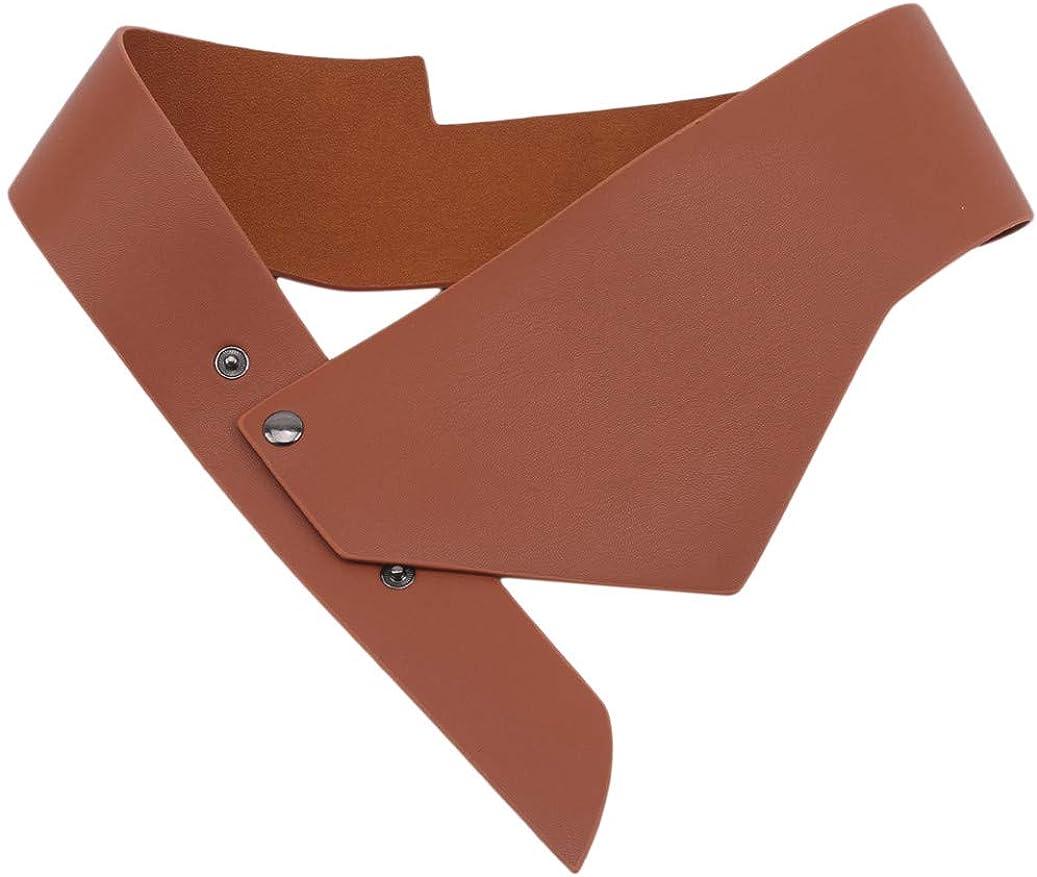 GOMYIE Women'S Wide Waist Strap Belt Adjustable Waistband Clothing Accessories