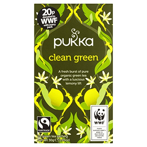 Pukka Cleanse Herbal Tea, 20 Sachets