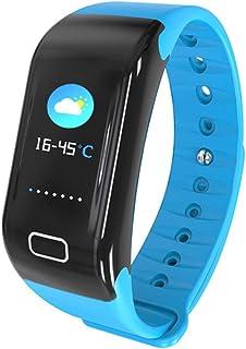 Reloj Inteligente,Smartwatch Impermeable IP68,Pulsera de Actividad Pantalla a Color,Rastreador Actividad GPS/Monitor de frecuencia Cardiaca Fitness Podómetro Android iOS para Mujer Hombre Niños
