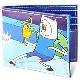 Adventure Time - Camiseta de Tirantes para Hombre, Color Azul/Violeta, Talla nica