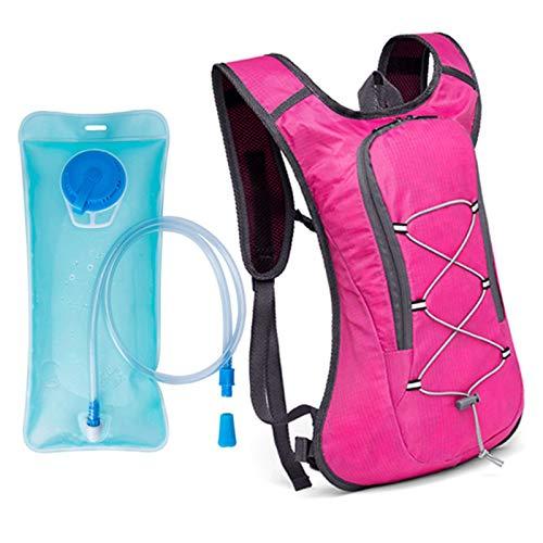 3L Mochila Ligera de Hidratación Pequeña para Correr Senderismo o Ciclismo Unisex,Pink