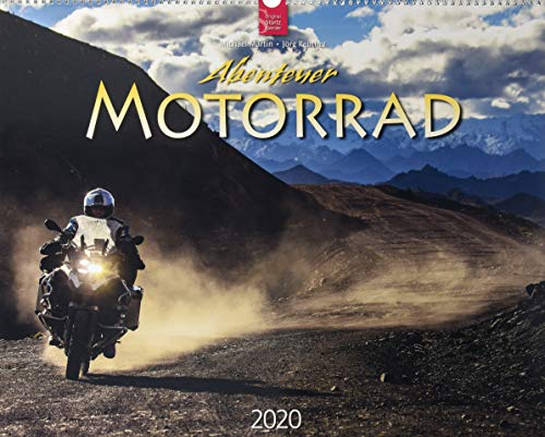 Abenteuer Motorrad: Original Stürtz-Kalender 2020 - Großformat-Kalender 60 x 48 cm