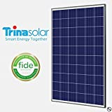 Trina Solar 300W Poly SLV/WHT 1000V Solar Panel - Pack of 4