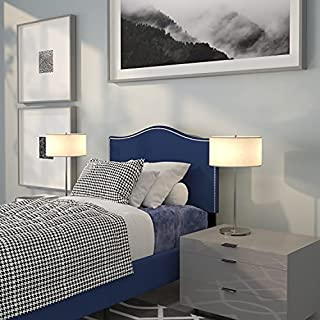 Flash Furniture Lexington Upholstered Twin Size Headboard with Accent Nail Trim in Navy Fabric (B079C4LLDD) | Amazon price tracker / tracking, Amazon price history charts, Amazon price watches, Amazon price drop alerts