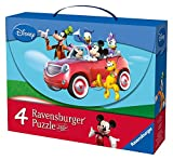 Mickey Mouse Club House - Maleta con 4 Puzzles (Ravensburger 07214 9)