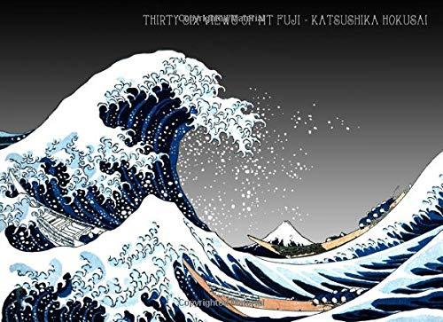 Thirty Six Views of Mt Fuji - Katsushika Hokusai