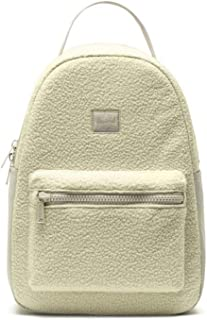 Herschel Nova Ladies Small Sherpa Overcast Polyester Casual Backpack 10502-03075-OS