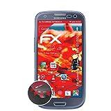 atFolix Schutzfolie kompatibel mit Samsung Galaxy S3 Neo GT-i9301 Folie, entspiegelnde & Flexible FX Bildschirmschutzfolie (3X)