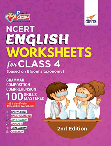 Perfect Genius NCERT English Worksheets for Class 4 (Based on Bloom's Taxonomy)