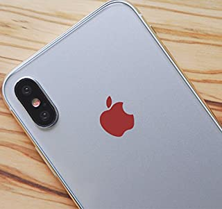 Red Color Changer Overlay for Apple iPhone X Logo Vinyl Sticker Decal