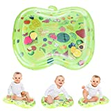 Baby Tummy Time Mat, Bestcool Sensory Toys for Babies Estera de agua inflable Fun time Play Activity Center Toy Almohadilla inflable para bebés y niños pequeños (3 meses en adelante)