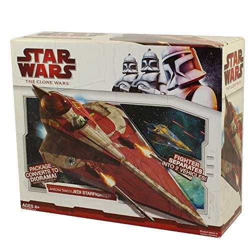 Star Wars Clone Wars Star Caza vehículo – Ahsoka Tano JediStarfighter