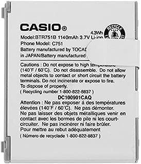 NEW OEM CASIO G'ZONE C751 RAVINE BTR751B BTR751 ORIGINAL BATTERY