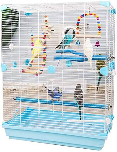 Jaula dpájaros duradera y ecológica, Jaula de vuelo para periquitos Parrot Jaulas...