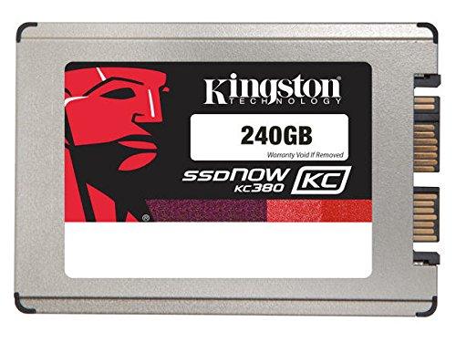 Kingston KC380 Memoria SSD, 240 GB, 1.8'', MicroSATA - SATA 3, 6 Gb/s, Grigio