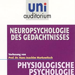 Neuropsychologie des Gedächtnisses Titelbild