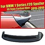 HJHNB ala Superior Carbon Fiber Rear Spoiler del Alerón Trasero De Fibra De Carbono para BMW Serie 1 F20 116i 118i 120i 125i 135i 135is, 2015 2016 2017 2018 2019, Modificación Dominante
