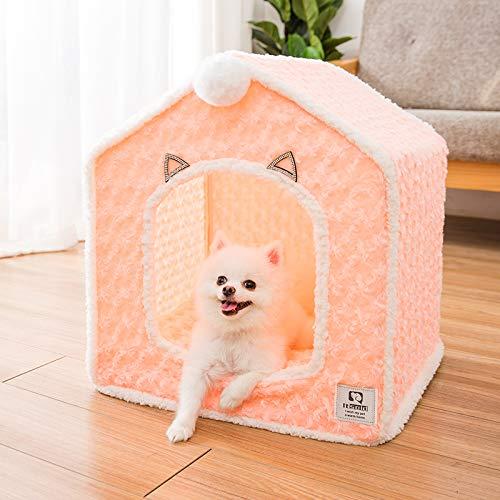 GOOCO Hundesofa, Hundebett,Exklusive Kuschelhöhle | Waschbare Katzenhöhle Für Haustiere | Kuschelhaus,Katze Kleine Hund Gemütliche Bett Haustiere Iglu Bett Kuschelhöhle Katzenbett