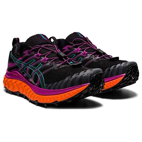 ASICS Trabuco Max Review Trail Running Shoe, Black/Digital Grape, 8.5 UK